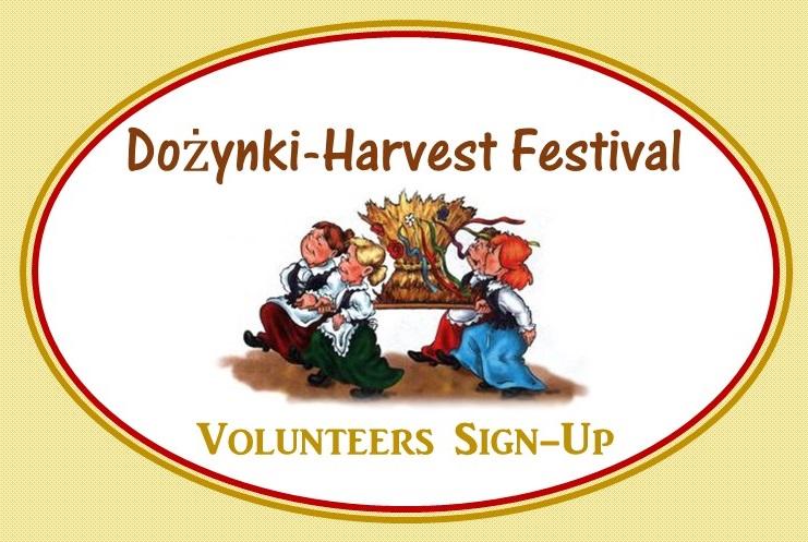 Dozynki Volunteers Sign-Up